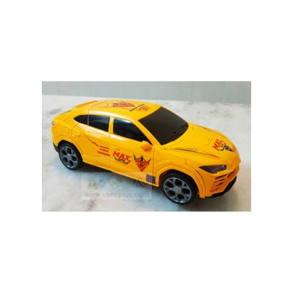 OFFER! Ready Stock- Children toys Super Deformation Car with Dynamic Music and Colorful lights